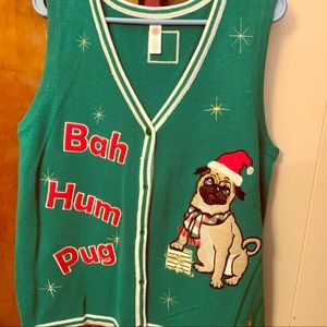 n/a Other - Pug Christmas visit.